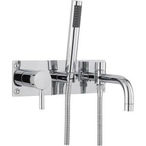 Hudson Reed Tec Single Lever Wall Mounted Bath Shower Mixer