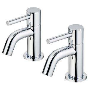 Ideal Standard Ceraline Bath Pillar Taps BC187 Chrome