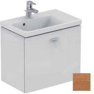 Ideal Standard Concept Space 600mm Wall Basin Unit RH E0315 Oak