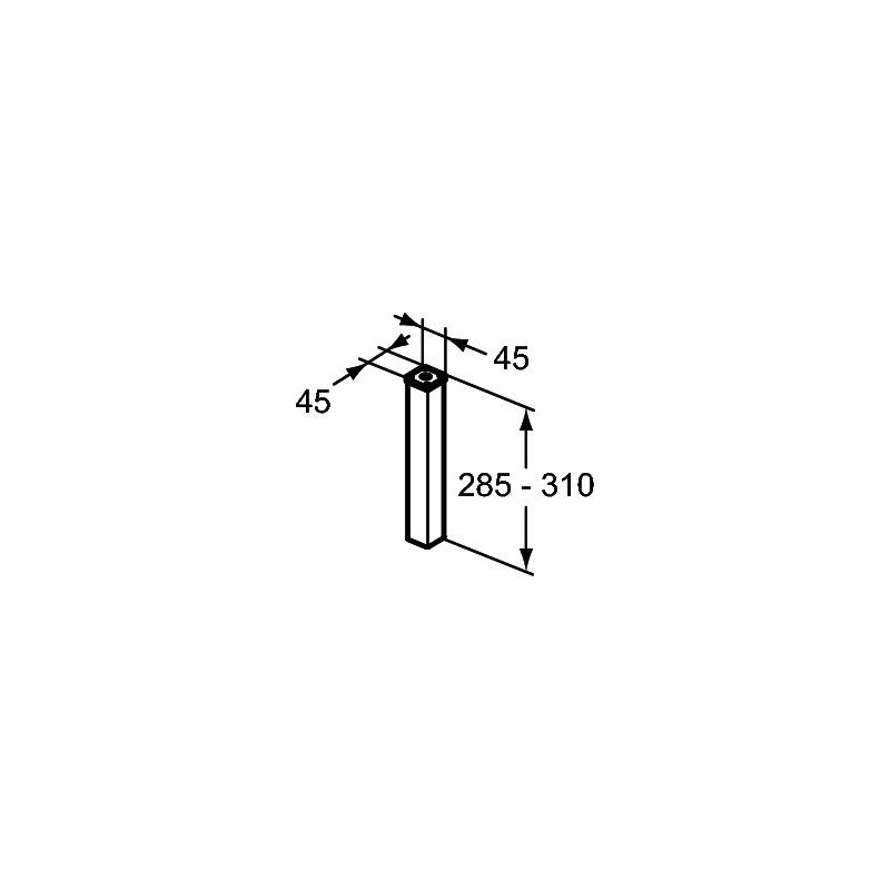 Ideal Standard Concept Large Individual Connect Leg