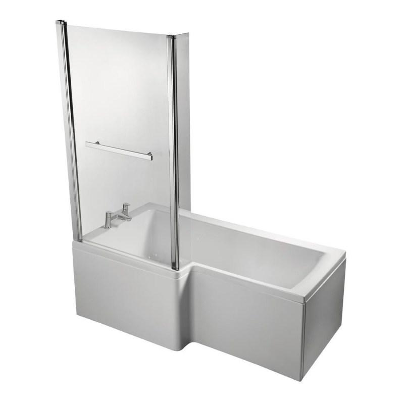 Ideal Standard Concept Space 150cm Shower Bath Left E0495