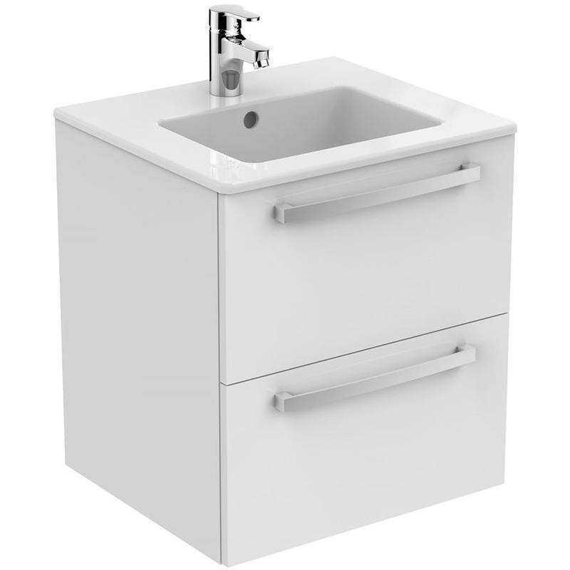 Ideal Standard Tempo 50cm Wall Vanity Unit Gloss White E1103