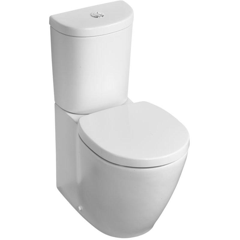 Ideal Standard Concept Space BTW Pan, Arc Cistern & Slow Seat