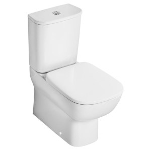 Ideal Standard Studio Echo Short Projection Toilet with Slow Close Seat