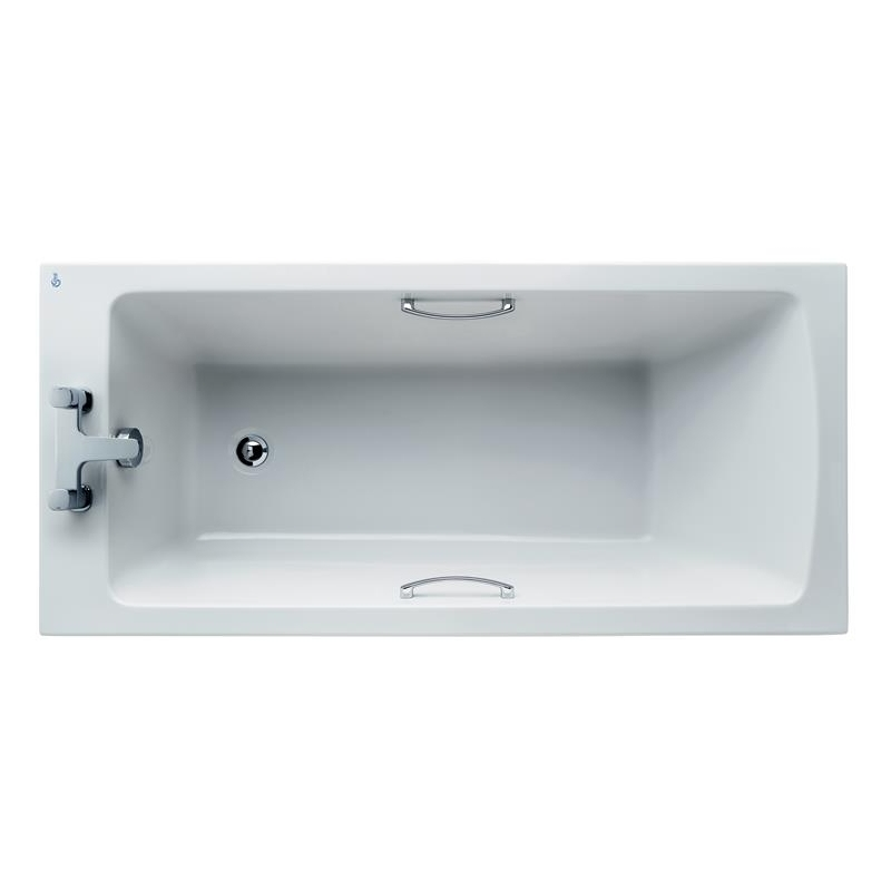 Ideal Standard Tempo Arc Idealform+ Bath with Grips 150x70cm E1556