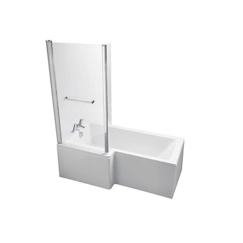 Ideal Standard Tempo Cube Idealform+ 170cm Shower Bath Left