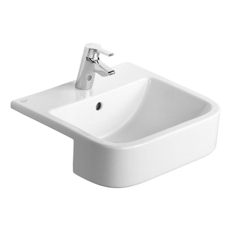 Ideal Standard Create Square 50cm Semi Countertop Basin 1TH