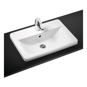 Ideal Standard Concept Cube 58cm Countertop Basin 1 Hole E5015
