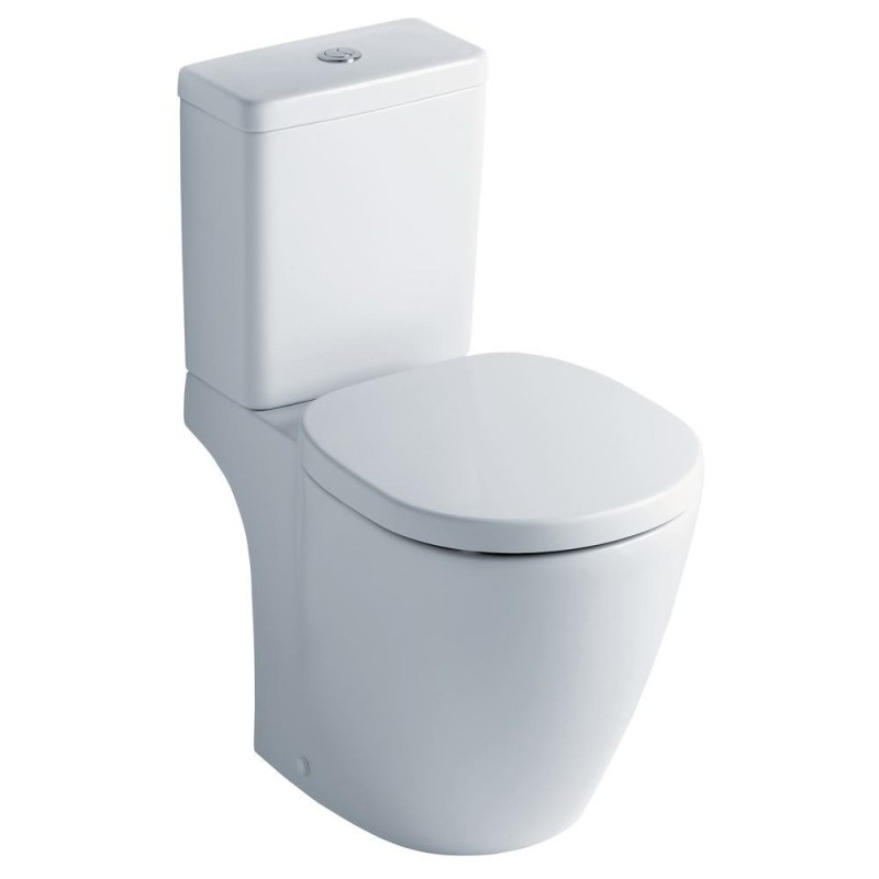 Ideal Standard Concept Space Compact Pan, Cube Cistern & Slow Seat