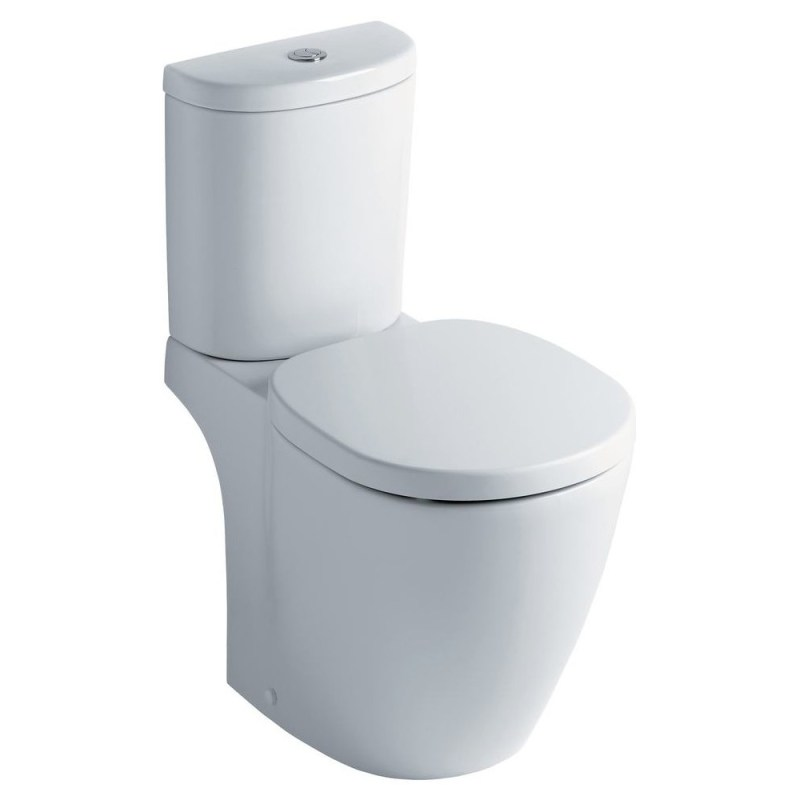 Ideal Standard Concept Space Arc Open Back Close Coupled Toilet
