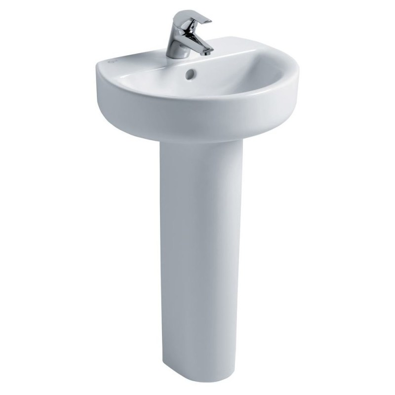 Ideal Standard Concept Sphere 45cm Handrinse Washbasin Only 1TH