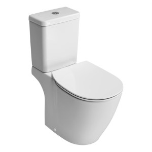 Ideal Standard Concept Aquablade Close Coupled WC Pan E8229