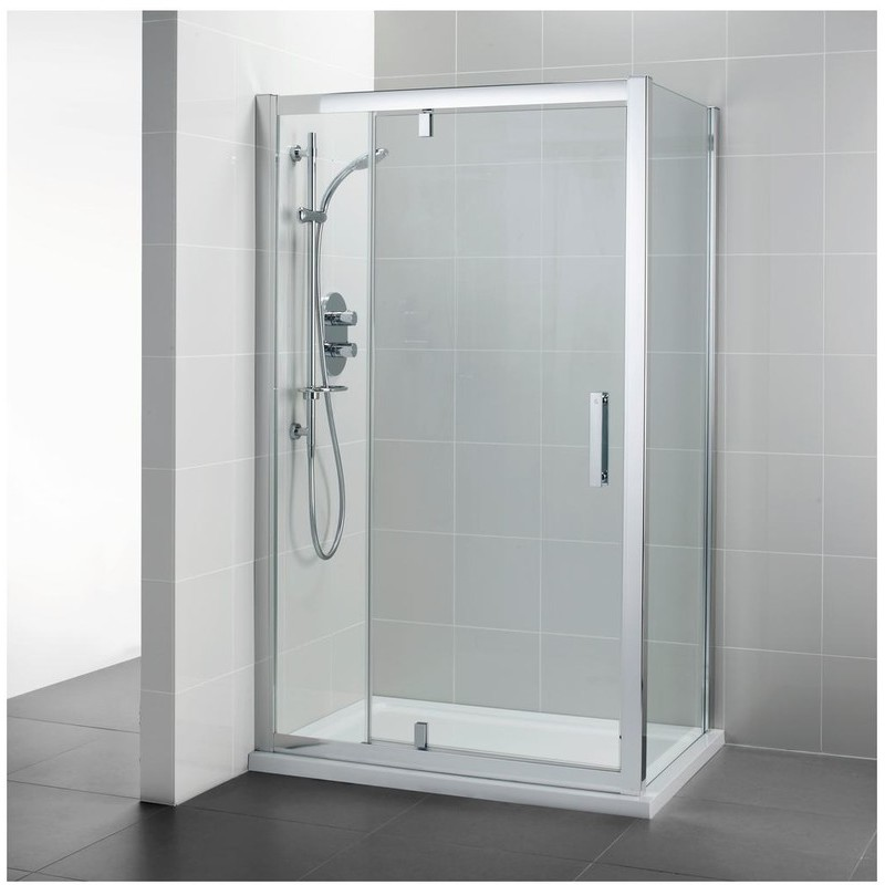 Ideal Standard Synergy 1200mm Pivot Door L6205 Bright Silver