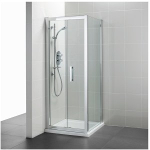 Ideal Standard Synergy 800mm Infold Door L6207 Bright Silver
