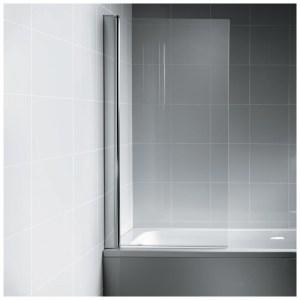 Ideal Standard Synergy Angle Bath Screen L6210 Chrome