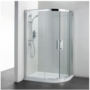Ideal Standard Synergy 1200x900mm Offset Quadrant L6287 Silver