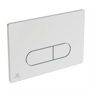 Ideal Standard Oleas M1 Mechanical Dual Flushplate Chrome R0115