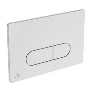 Ideal Standard Oleas P1 Pneumatic Dual Flushplate Chrome R0116