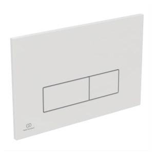 Ideal Standard Oleas P2 Pneumatic Dual Flush Plate White