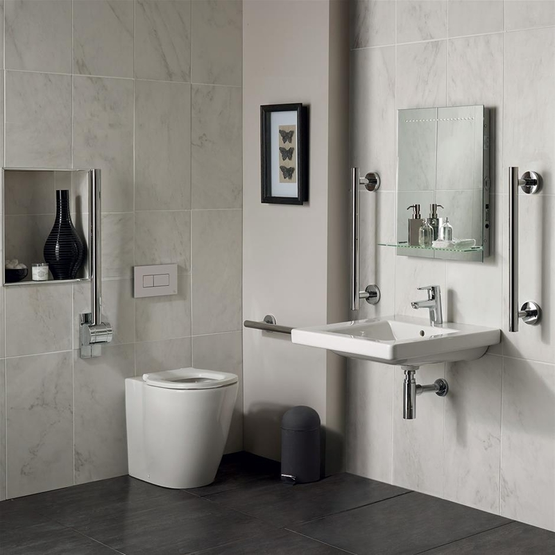 Ideal Standard Concept Freedom Bathroom Pack S6403 Chrome