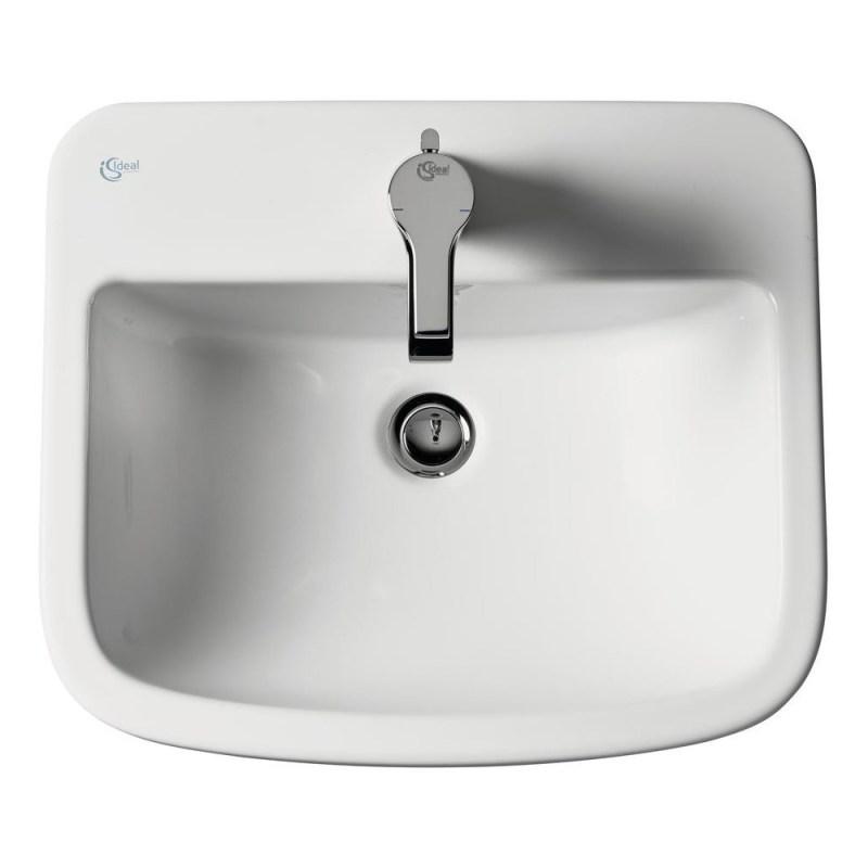 Ideal Standard Tempo 50cm Countertop Basin 1 Taphole T0592