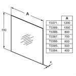 Ideal Standard 100cm Bathroom Mirror T3369