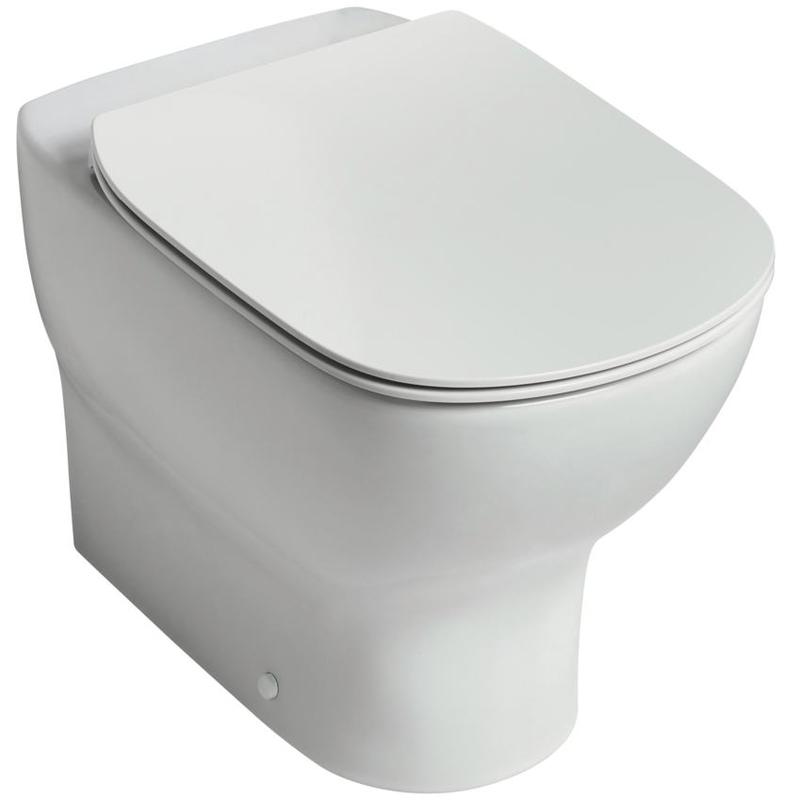 Ideal Standard Tesi Aquablade Back-To-Wall WC Bowl T3535 White