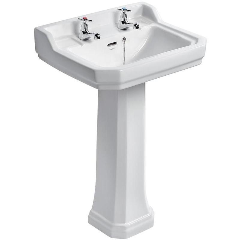Ideal Standard Waverley Classic 56cm Washbasin 2 Tapholes U4701