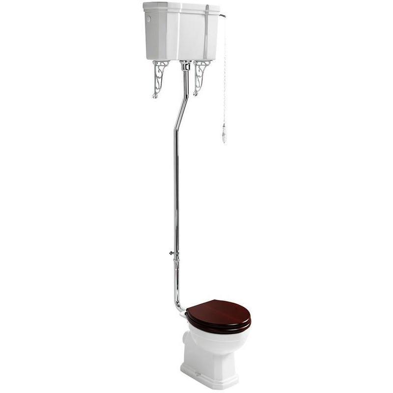 Ideal Standard Waverley High Level Cistern with Flushpipe U4707