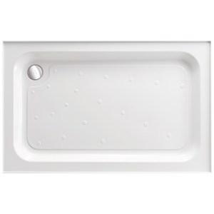 Just Trays Merlin 1000x900mm Rectangular Shower Tray 4 Upstands