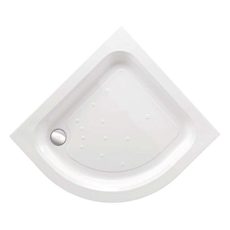 Just Trays Ultracast 800mm Quadrant Shower Tray 2 Upstands