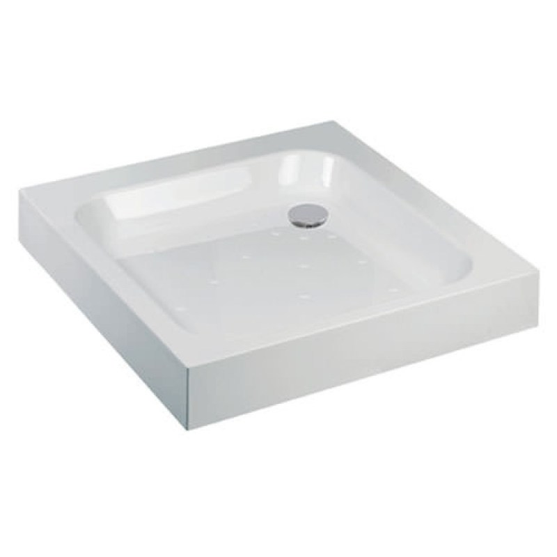Just Trays Ultracast 900mm Square Shower Tray