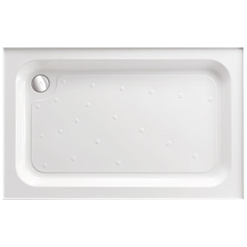 Just Trays Merlin 900x700mm Rectangular Shower Tray 4 Upstands