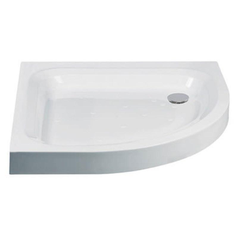 Just Trays Ultracast 900x760mm RH Offset Quadrant Shower Tray
