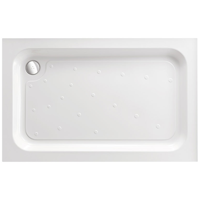 Just Trays Merlin 1000x700mm Rectangular Shower Tray Anti-Slip