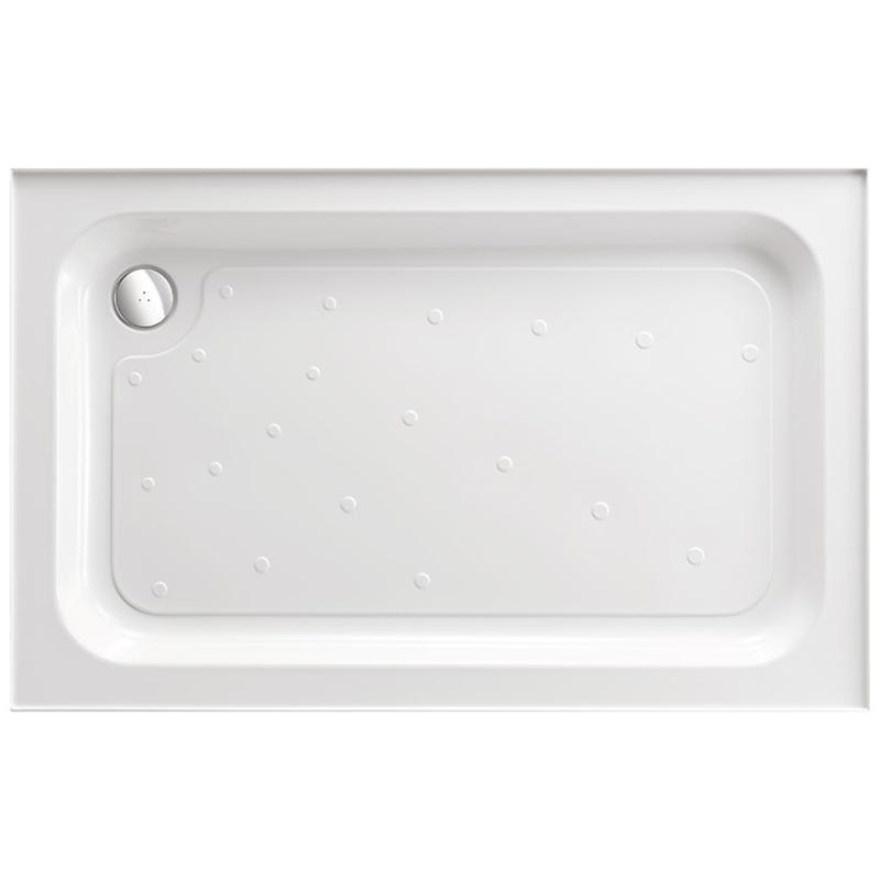 Just Trays Ultracast 1000x760mm Shower Tray 4 Upstands Anti-Slip