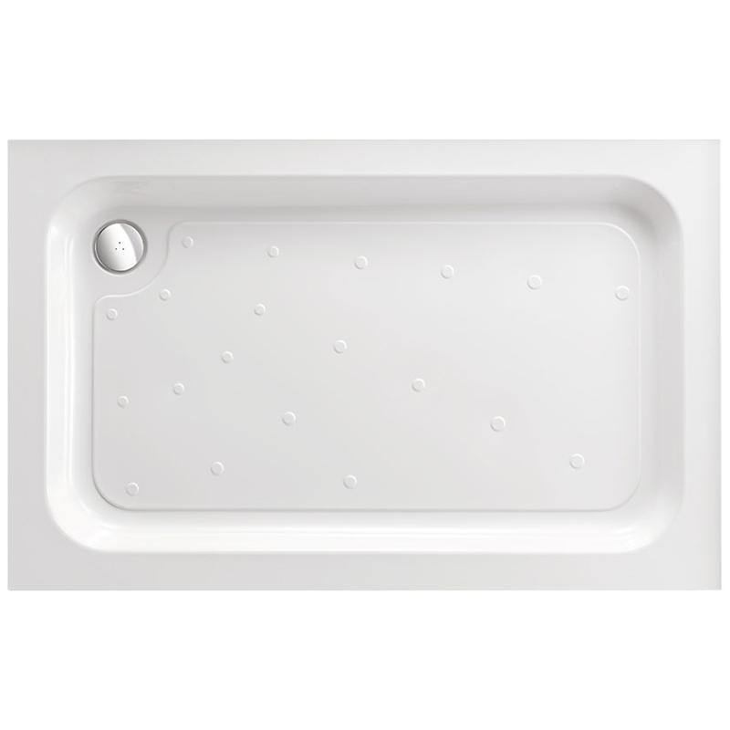 Just Trays Merlin 1000x900mm Rectangular Shower Tray Anti-Slip