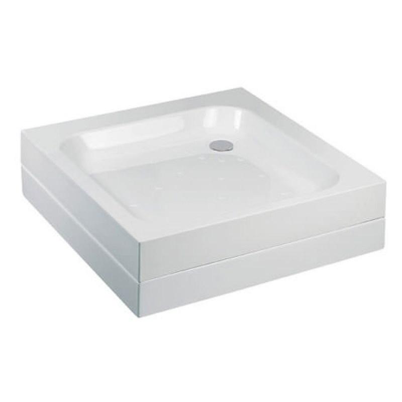 Just Trays Merlin 760mm Square Shower Tray Anti-Slip