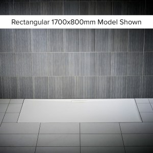 Just Trays Evolved Anti-Slip 1000x760mm Rectangular Shower Tray