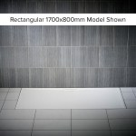 Just Trays Evolved Anti-Slip 1000x800mm Rectangular Shower Tray