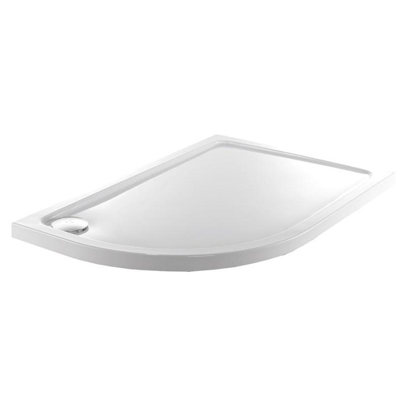 Just Trays Fusion 1200x900mm Offset Quadrant LH Anti-Slip Tray