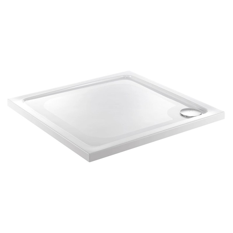 Just Trays Fusion 800mm Square Shower Tray Anti-Slip