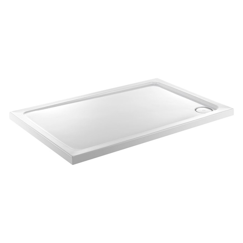 Just Trays Fusion 1000x800mm Rectangular Shower Tray
