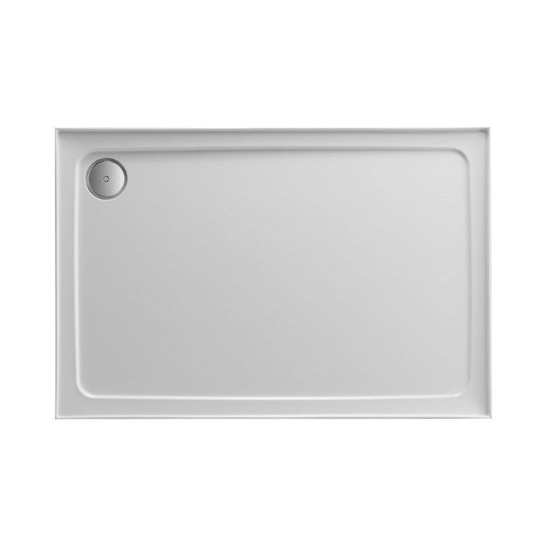 Just Trays Fusion 1000x800mm Rectangular Shower Tray 4 Upstands