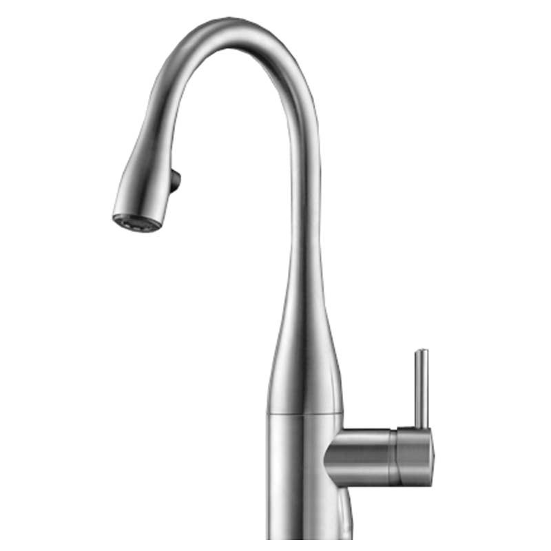 KWC Eve Sink Mixer with Pull-Out Aerator & Light Chrome
