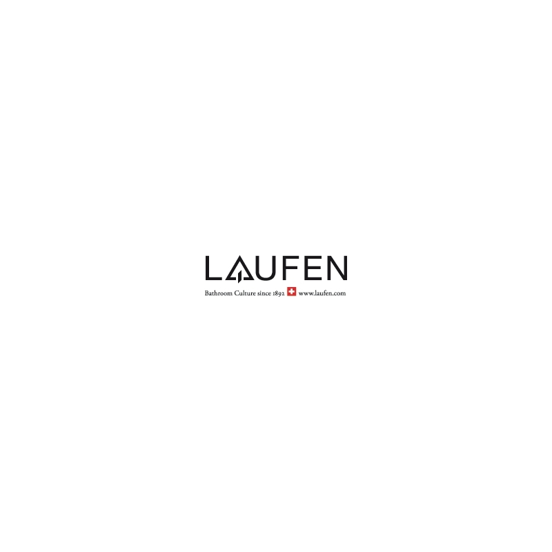 Laufen Ceiling Shower Arm 100mm with Round Plate