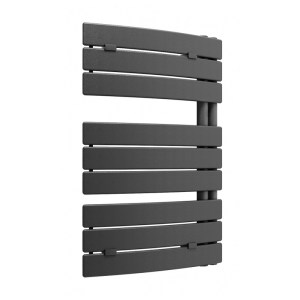 Lazzarini Pieve 780x550mm Anthracite Curved Towel Warmer