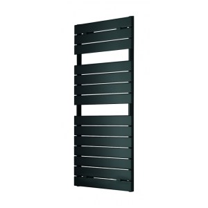 Lazzarini Palermo 1213x500mm Anthracite Towel Warmer