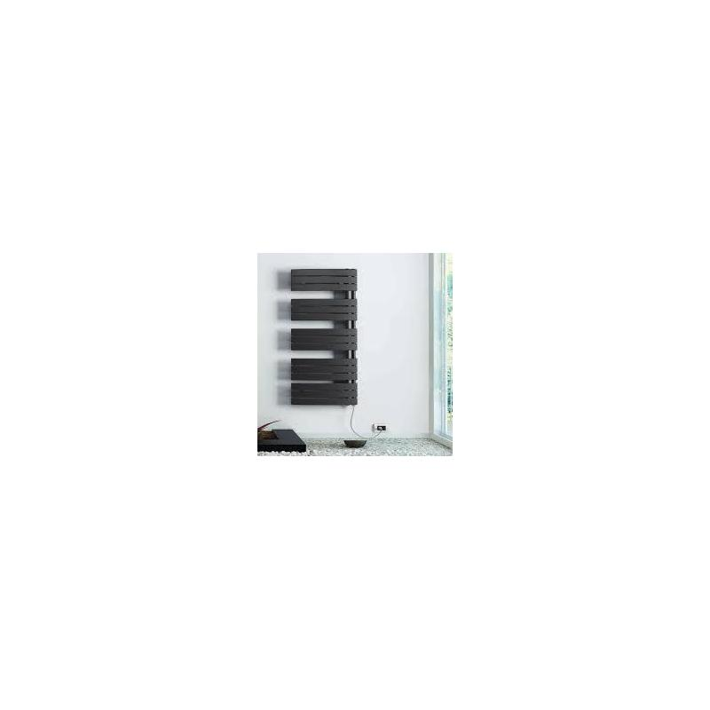 Lazzarini Pieve 1380x550mm Anthracite Electric Towel Warmer