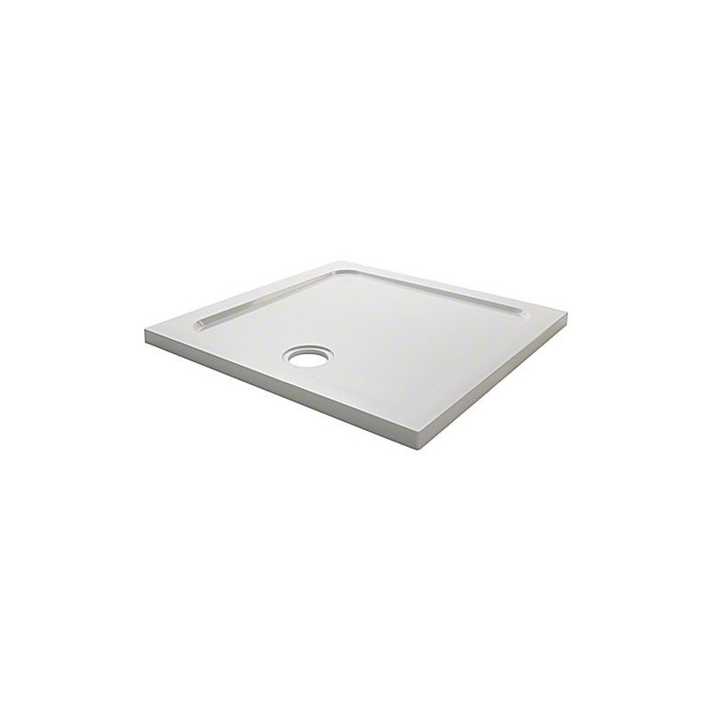 Mira Flight Low Square 800x800 2 Upstands Shower Tray